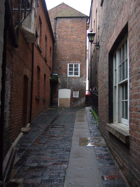The shuts and passages of Shrewsbury : Coffee House Passage