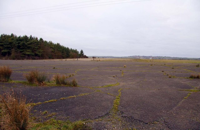 The former Oakley Airfield