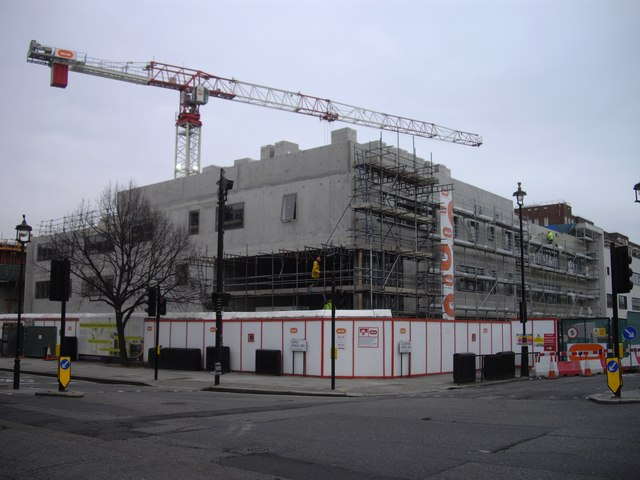 Building work at Pimlico Academy Lupus Street