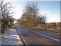 NS4040 : B571 near  Kilmaurs by wfmillar