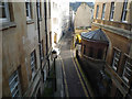ST7464 : Narrow Lane in Bath : Week 7