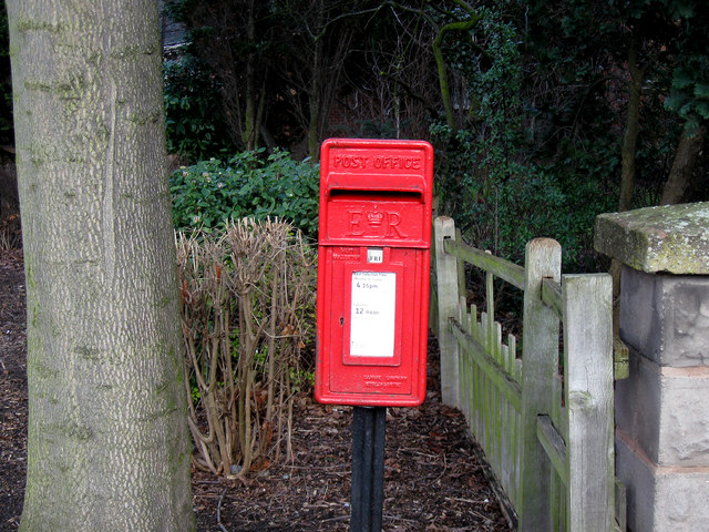 &quot;ERII&quot; Post Box, Hadley