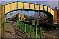 SU6232 : Footbridge, Ropley Station by Ian Capper