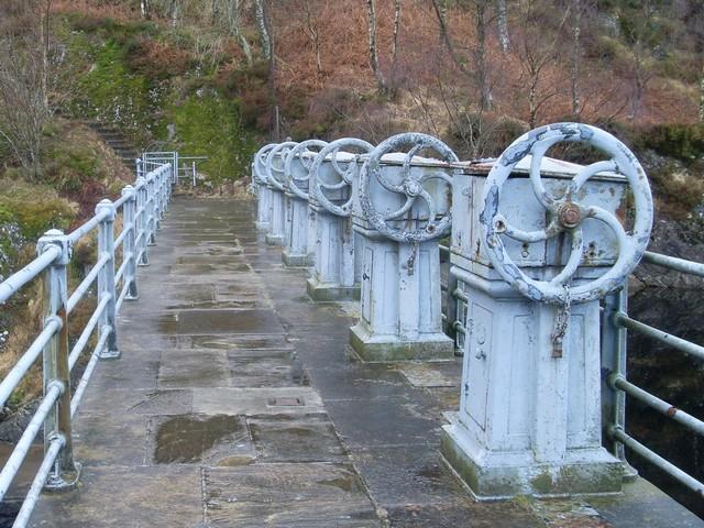 Loch Katrine dam