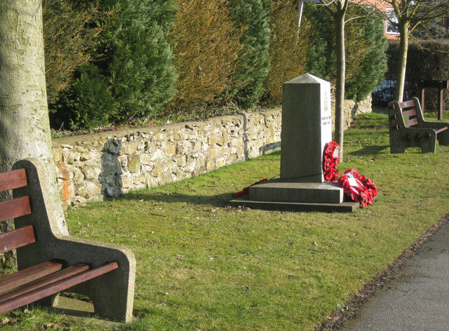 RAF Ludford Magna memorial