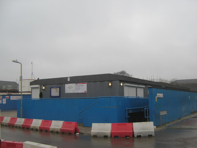 Stanhope Library (temporary building)