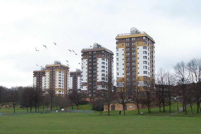 Upperthorpe Tower Blocks Viewed From 169 Terry Robinson