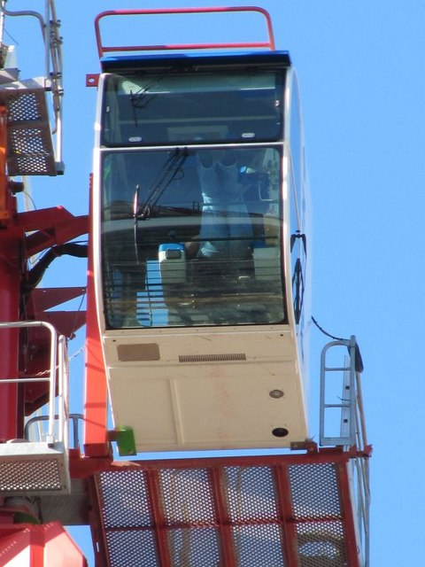 Cab on the crane