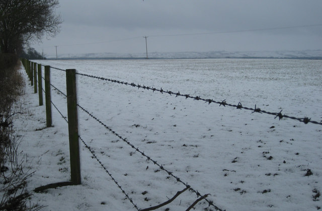 Snow over the wolds