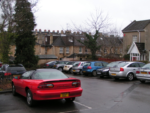 Charlotte Street Car Park Bath Uk