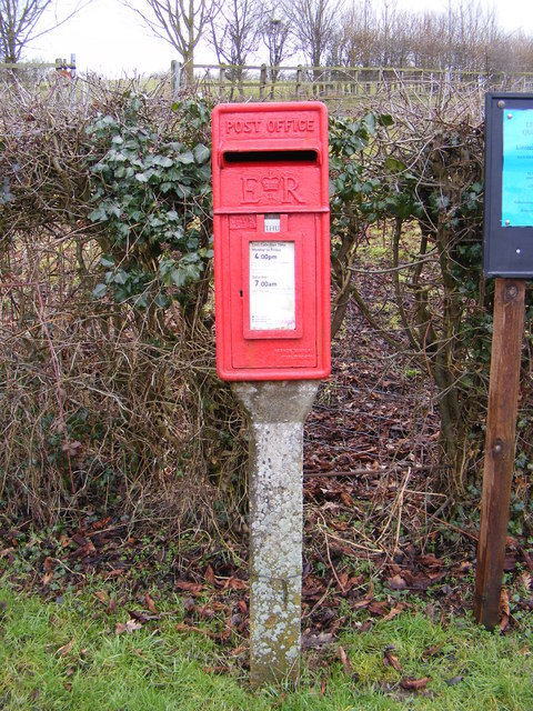 Bridge Farm Halesworth Road Postbox