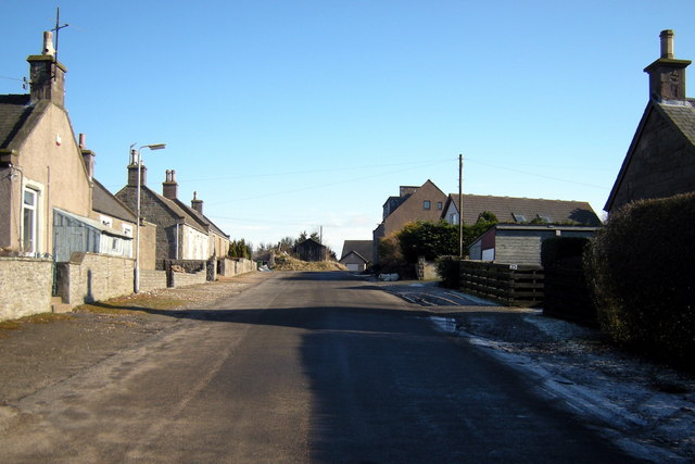 Offshoot of Suttieside Road, Forfar