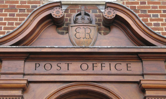 Size 3 post office doors