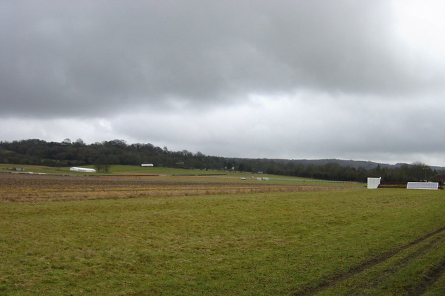 Charing Racecourse in Preparation
