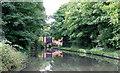 SP0579 : Approaching King's Norton stop lock, Birmingham by Roger  Kidd