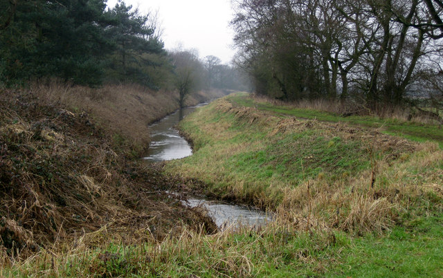 Former Caistor Navigation Canal