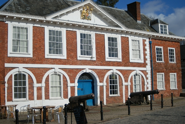 Exeter Quay Custom House