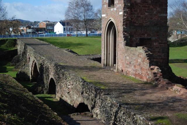 Exeter's medieval bridge