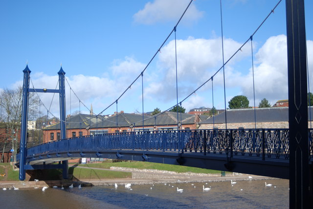 Cricklepit Bridge at Exeter