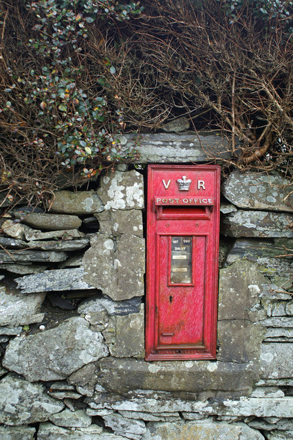 Victorian post box in Dalby