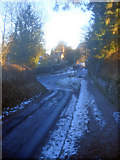 SO2856 : End of Ridgebourne Road by Trevor Rickard
