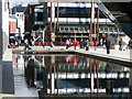 ST5872 : Reflections in pool by the @ Bristol Museum. : Week 8