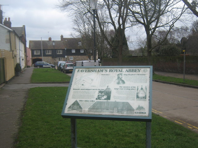 Information Board on Abbey Place