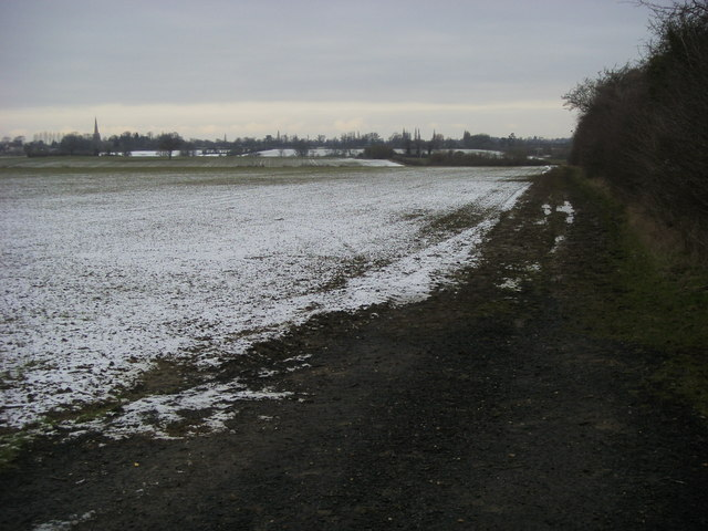 Bridleway and footpath to Colmworth