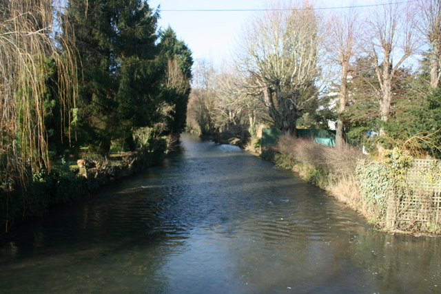 River Darent, Shoreham: downstream