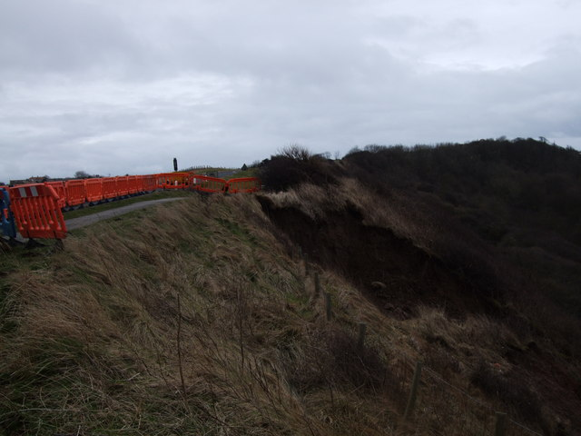 More landslips at Scarborough