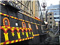 TQ3280 : The Golden Hinde at St Mary Overie's Dock London : Week 9