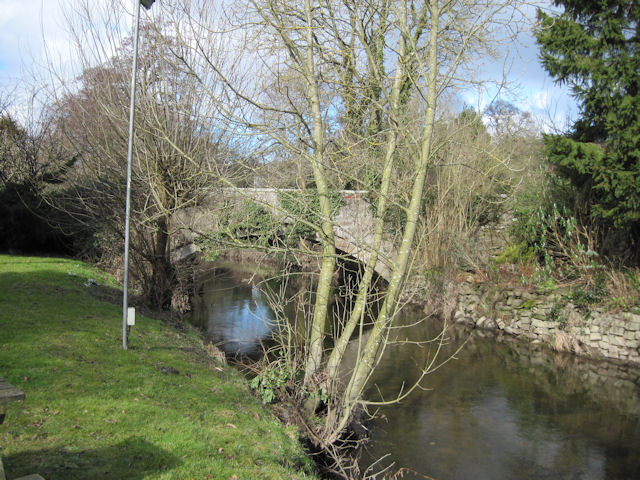 Bridge over River Alyn