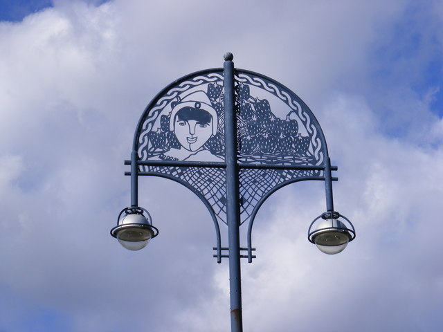 Ornate Street Light, Barking Town Quay