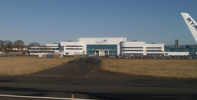 Spirit Aerosystems building