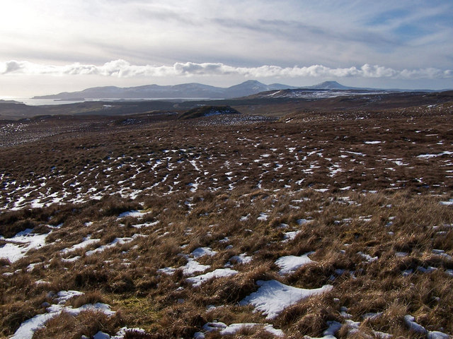 Winter moorland