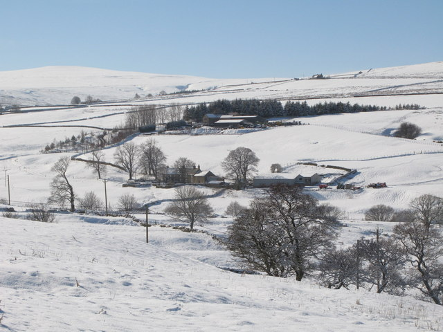 Snowy East Allen Dale at Sipton Shield