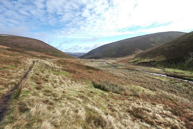 Path In Langden Valley