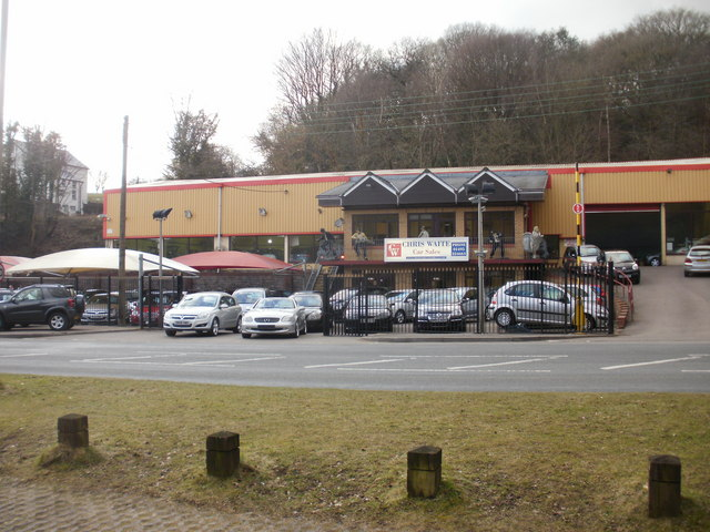 Chris Waite car sales, Rock Garage
