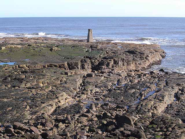 Rangefinder Pillar, St Mary's Island