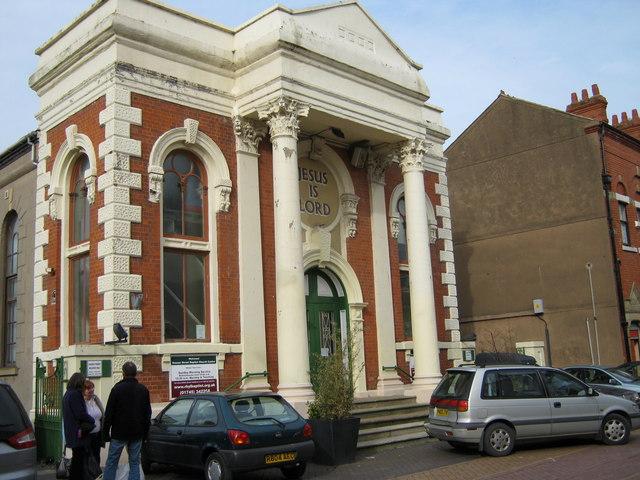 Rhyl Baptist church, Sussex Street