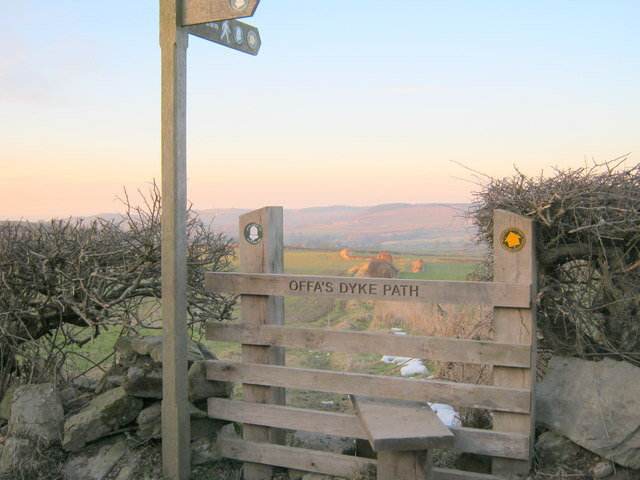 Stile on Offa's Dyke Path