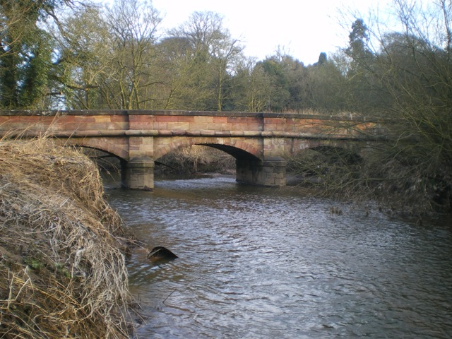 Basford Bridge - over the River Churnet