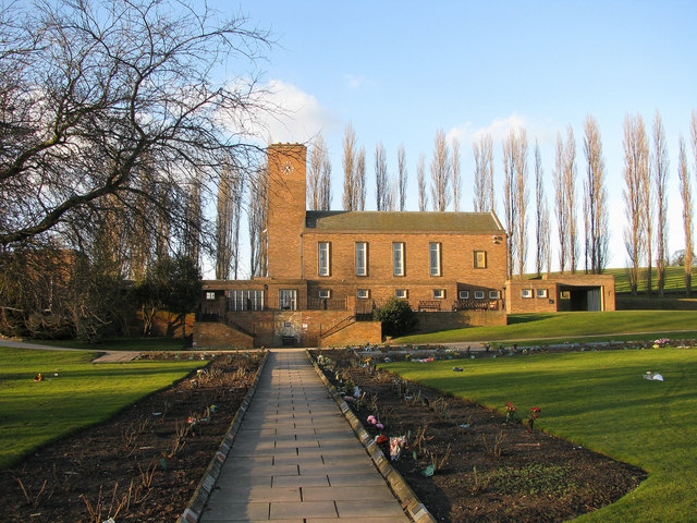 Pontefract Crematorium Bilbo Geograph Britain And Ireland