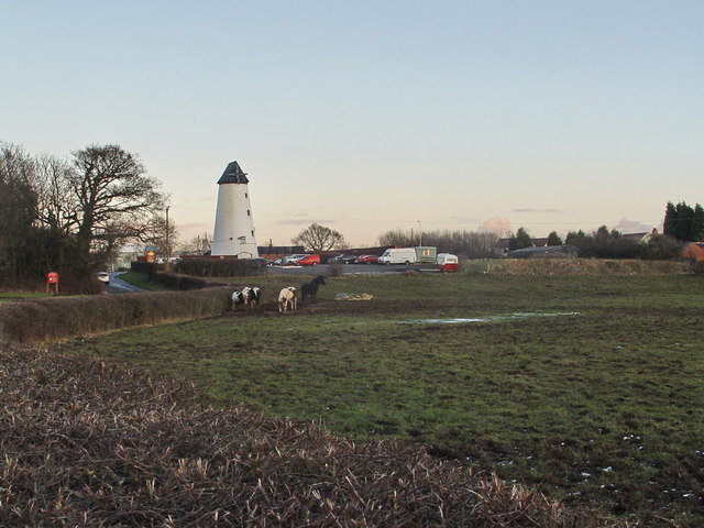 Windmill At Clifton