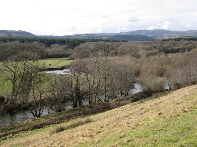 Meanders of the Teign