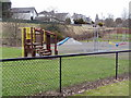 NJ9203 : Garthdee children's play park from West by Ewen Rennie