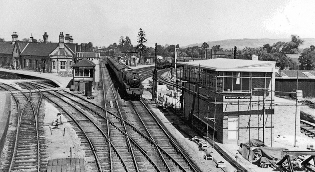 Ashchurch Station, 1957
