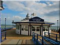 TV6198 : Tea Rooms on Eastbourne Pier by Paul Gillett