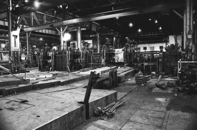 BSC Moss Bay, rolling mill