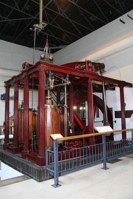 Kew Bridge Steam Museum, Dancer's End beam engine